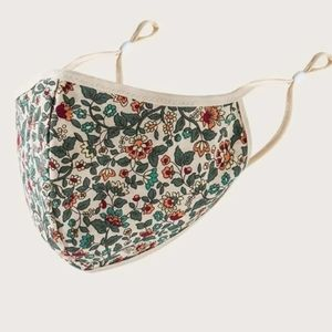 New Ditsy floral pattern face mask Reuseable